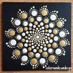 diy kunst Stunning wooden mandala painted by coloring. Mandala Art, Mandala Canvas, Mandala Painting, Mandala Pattern, Dot Art Painting, Pebble Painting, Pebble Art, Stone Painting, Mandala Painted Rocks