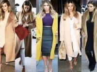 Kim Kardashian Design - www. Kim Kardashian Kanye West, Kim Kardashian Weight Loss, Kardashian Style, Street Style 2014, Mode Mantel, Kim K Style, Oversized Coat, Mode Inspiration, Fashion Inspiration