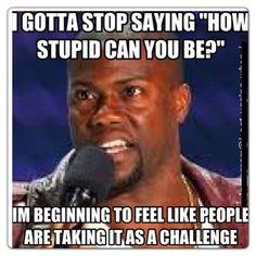 Stupidity.