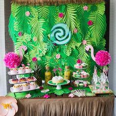 Available to rent, Ottawa Ontario Moana Birthday Party Theme, Moana Themed Party, Moana Party, Luau Party, Hawaiian Birthday, Luau Birthday, First Birthday Parties, Moana Backdrop, Festa Moana Baby