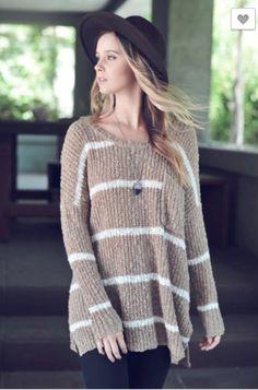 Lindsay Striped Sweater