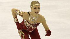 Anna Pogorilaya Russian figure skater