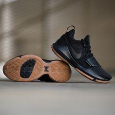 best website 30f79 993ca Signature shoe of Paul George. The Nike PG1 in black anthracite gum colorway