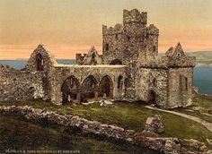 Isle of Man, Peel Cathedral, St German's.jpg 800×585 pixels