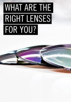 What are the right lenses for you? From sport glasses to reading glasses and sunglasses, there's a perfect set of Rodenstock lenses to match your needs. Click here to see which ones are right for you.