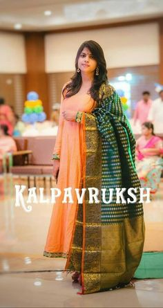 Indian Gowns, Indian Attire, Indian Wear, Kalamkari Dresses, Ikkat Dresses, Indian Wedding Outfits, Indian Outfits, Indian Designer Suits, Stylish Sarees