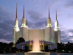 washington dc temple - Google Search