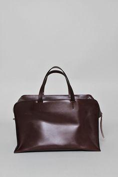 SARA BARNER  Overnight Bag - Dark Brown Bridle