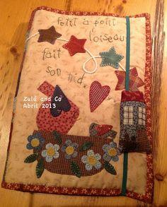 Zulu e Co - linda pasta para caderno ou livro