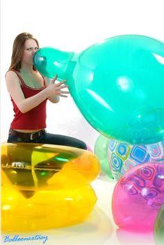 B2p balloon looner girl