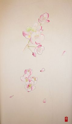 Plum or Sakura? :) by yoso tattoo (www.yoso.eu), via Flickr
