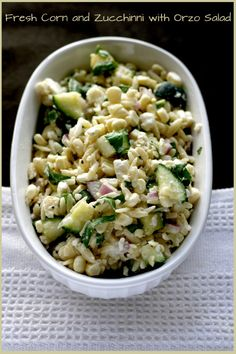 corn orzo salad   Search Results   Eat Your Tart Out.
