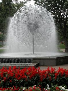 Berger Fountain at Loring Park - Minneapolis, MN. photo by Michael Mingo