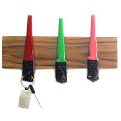 Some quirky brush hooks, aren't they??! :)