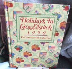 Vintage Holidays in Cross Stitch 1990 The by ShopHereVintage2