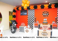 harley davidson baby shower ideas | ,harley davidson birthday party,harley davidson themed party,harley ...