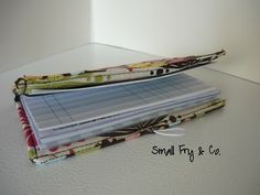 How to make your own checkbook cover