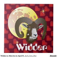 Widder 21. März bis 20. April Fliese