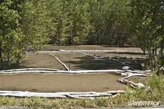 Greenpeace July 2011 Photo of the Month - Yellowstone River Oil Spill