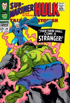 Tales To Astonish 89 Hulk Sub-Mariner Silver Age Marvel Stranger VF Kane Hulk Marvel, Marvel Comics Superheroes, Hulk Comic, Marvel Comic Books, Comic Books Art, Avengers, Comic Art, Hulk Hulk, Dc Comics