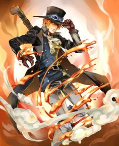 Tags: Fanart, ONE PIECE, Pixiv, Sabo, One Piece: Two Years Later, Fanart From Pixiv, Pixiv Id 3199023