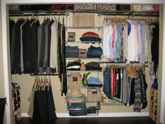 Maximizing Storage In A 6 Ft Closet   Google Search