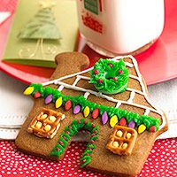 Easy Gingerbread House Cookies -   No time to make an entire gingerbread house? No problem! These cute little cookies are just as fun to decorate.
