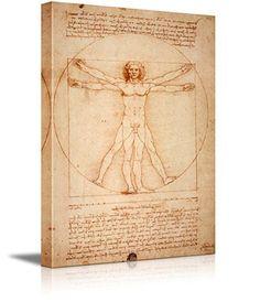 Vitruvian Man by Leonardo Da Vinci Giclee Canvas Prints W... https://www.amazon.com/dp/B00RN9747S/ref=cm_sw_r_pi_dp_x_qcFzyb48BEX1X