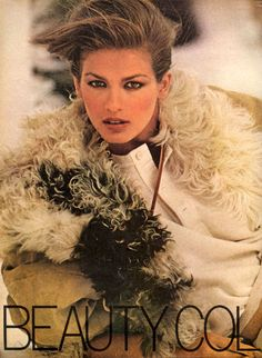 Gia Carangi, 1978 Vogue USA, October 1978 Photographed by Arthur Elgort Hair by Christiaan Makeup by Way Bandy