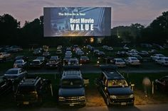 drive-in movies