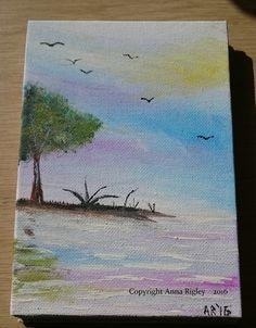 Acrylic on canvas board Canvas Board, Anna, Artist, Artists