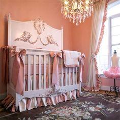 Mirabelle Baby #Bedding by francine via @PoshTots #baby #nursery ideas
