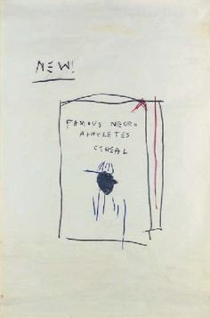 Jean Michel Basquiat, Cereal Box