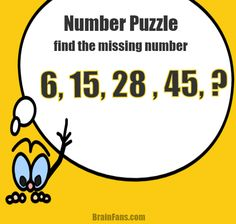 how to solve number pattern
