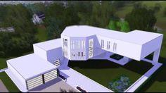 The Sims 3 House : Ultra Modern Art Mansion [HD]