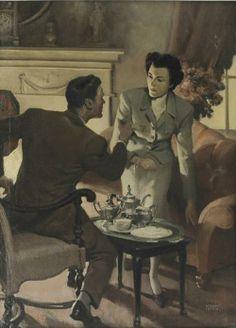 William Andrew Loomis 1892-1959 | American illustrator | Tutt'Art@ | Pittura * Scultura * Poesia * Musica |