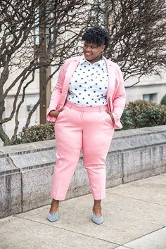 8 Must Have Bright Colored Plus Size Pantsuits For Spring