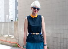 You'd be hard-pressed to find an item of clothing that isn't suddenly more slimming when belted at the waist—a woman's naturally thinnest point. Cardigans? Check. Blazers? Check. Coats and dresses? Check and check. For best results, keep a variety of cinchers on hand, from wide versions with bold buckles (great for maxi dresses and circle skirts) to skinnier numbers in bold hues (they'll look great wrapped around your favorite cardi or minidress).