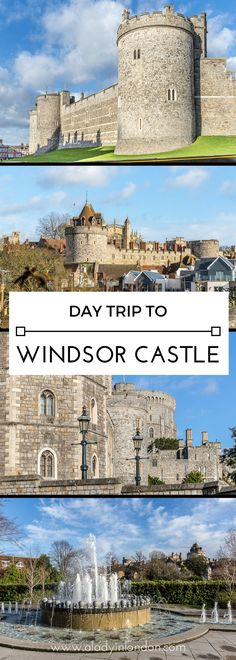 A lovely guide to a day trip to Windsor Castle, complete with things to do and see in the area. #windsorcastle #castles #england