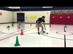 TeachPhysEd - Crazy Cones - YouTube