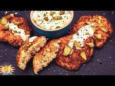 Hanukkah typical LATKES (potato fritters / pancakes ) made completely KETO and LOW CARB without any Cauliflower, Broccoli or Courgette / Zucchini in sigh. Potato Fritters, Keto For Beginners, Air Fryer Recipes, Ketogenic Diet, Food Videos, New Recipes, Ninja, Grilling, Paleo