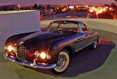 1953 Cadillac Ghia series 62. Was built for Prince Ali Khan as a gift to Rita Hayworth.