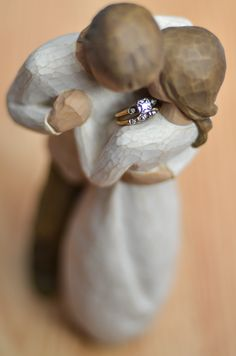 Ring wedding ring engagement ring photo,ahh so romantic Sent to me by granddaughter, Ariana See You at the Top