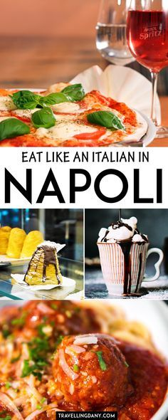 Let's see how to eat on the cheap (but still yummy) in Naples (Italy) with the locals, discovering the traditional dishes and also a few delicious variations. | #Naples #Italy #Napoli #Pizza #Italianfood #Europe #foodie