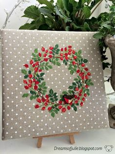 Рябиновый венок/Wreath of Rowan.