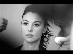 Behind The Scenes Photos Of Monica Bellucci At Cannes In 2003