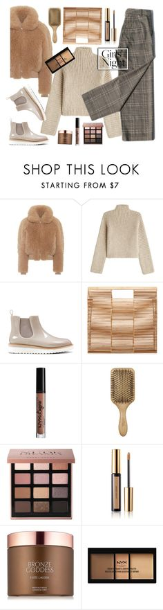 """""""With girls."""" by gul07 ❤ liked on Polyvore featuring Acne Studios, Rosetta Getty, Nine West, Cult Gaia, Charlotte Russe, Bobbi Brown Cosmetics, Yves Saint Laurent, Estée Lauder and NYX"""