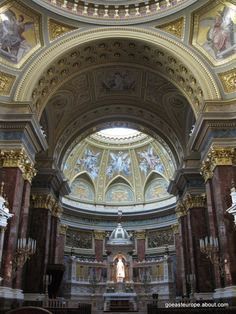 Top Sights of Budapest, Hungary: St. Stephen's Basilica in Budapest