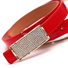 Rhinestone Leather Belts for Women Leather Belts, Pu Leather, Patent Leather, Fashion Belts, Fashion Dresses, Rhinestone Belt, Belts For Women, Belted Dress, 1 Piece