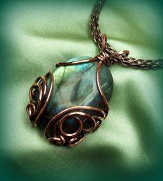 Flickriver: Most interesting photos from Yummy Copper Jewelry pool  - Love the labradorite and copper!